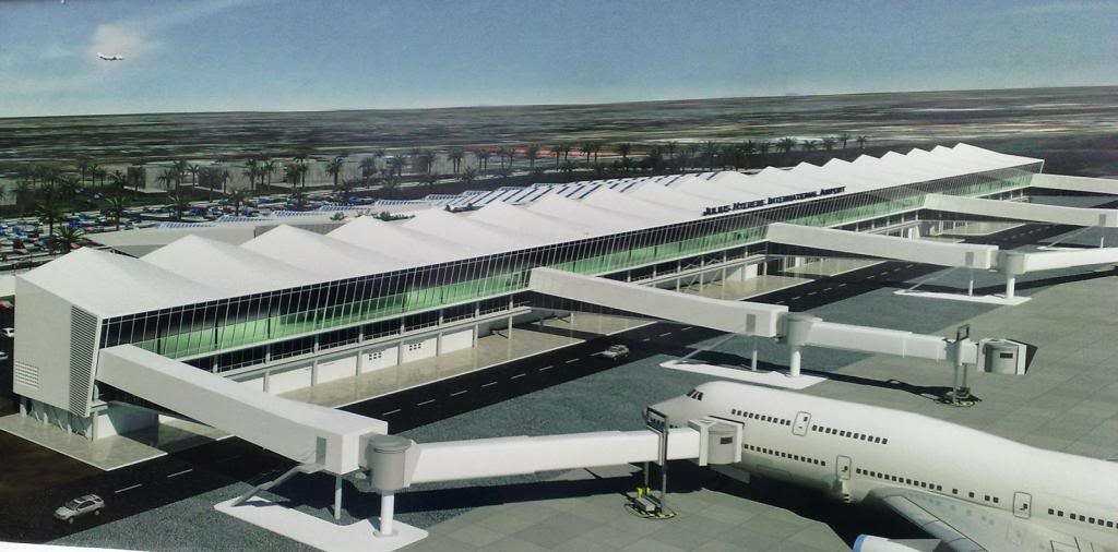 Construction Of Terminal Iii At Julius Nyerere Airport In