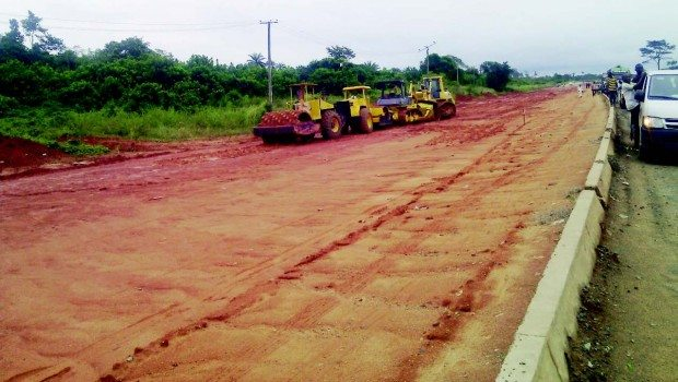 he Opume-Okoroba Road project