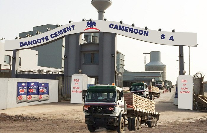 Dangote Cement plant in Cameroon