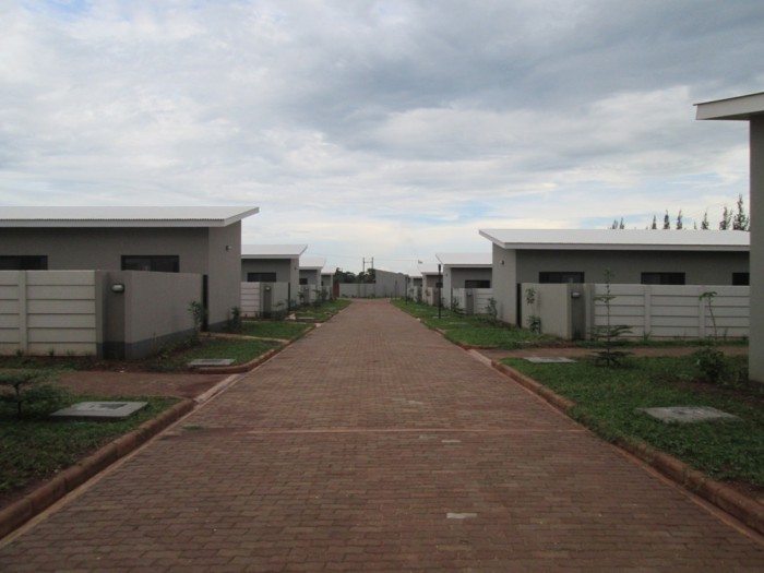 housing units constructed by National Housing Authority of Zambia