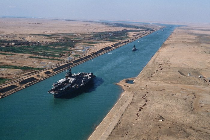 New suez canal project