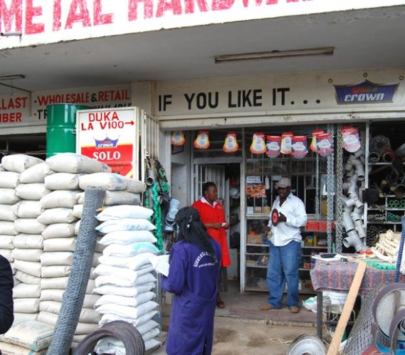 Construction boom makes hardware shops most popular business in East Africa