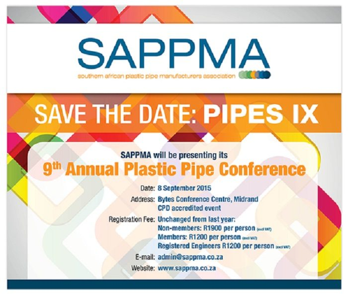 PIPES XI Conference in South Africa -Tuesday, 8 September 2015