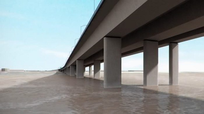 Set back as construction of second Niger bridge in Nigeria is halted