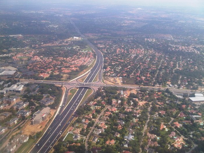 The constructed Nicol drive road in South Africa opens