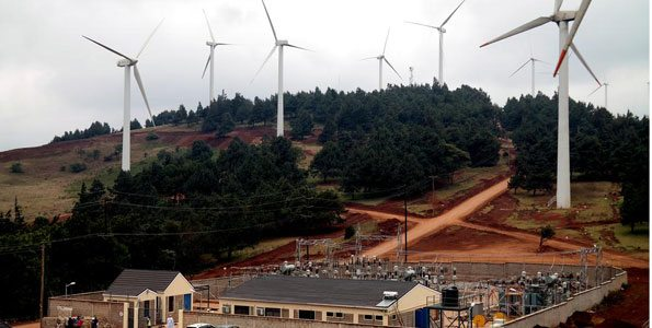 Wind power plant in Kenya to constructed