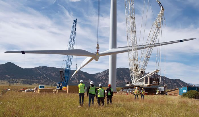 Constructed Ngong wind power plant is to be commissioned in Kenya