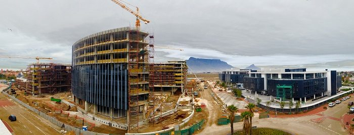 Barrow Properties broke ground for construction work on the second phase of Waverley office park in South Africa