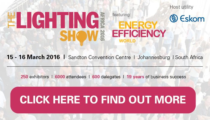 The Lighting Show Africa 2016
