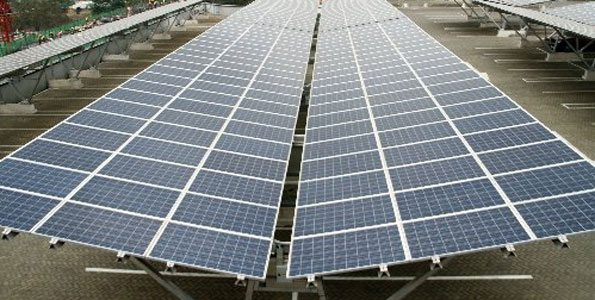 Construction of solar carport in Kenya to benefit Garden City mall