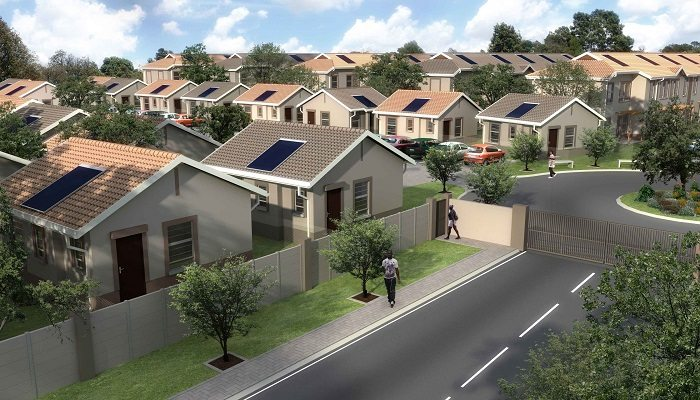 Construction of affordable housing in south africa gets a for Affordable house