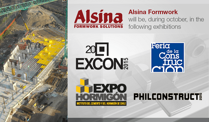 Spain based engineering and construction firm Alsina Group set for construction expos