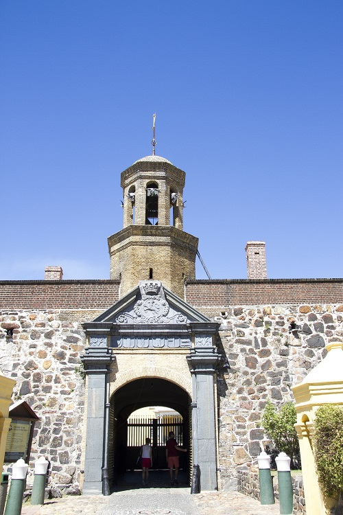 Oldest Building Castle of Good Hope in South Africa to be reconstructed