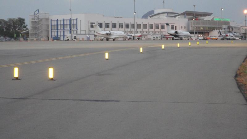 The construction of a second runway at an airport in Nigeria