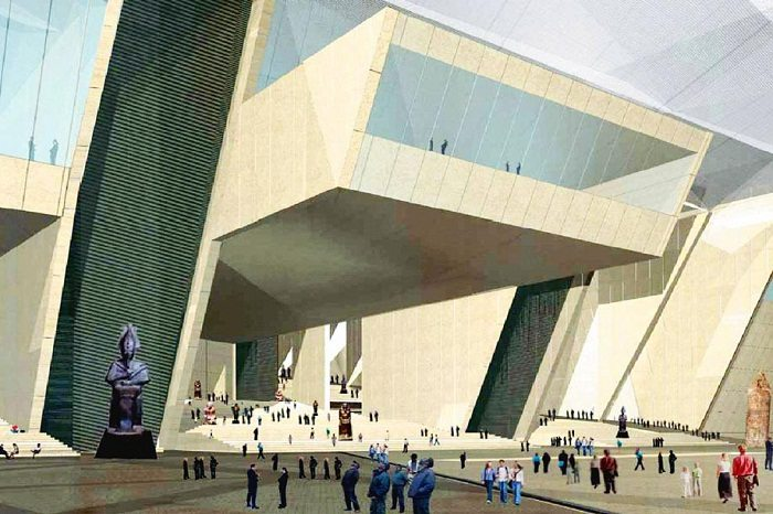 Shortage of funds delays the construction of Grand Egyptian Museum