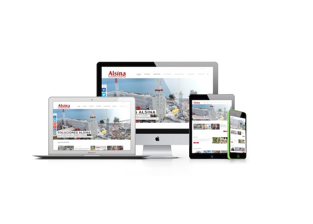 Engineering and construction firm Alsina Group in Spain launches new website