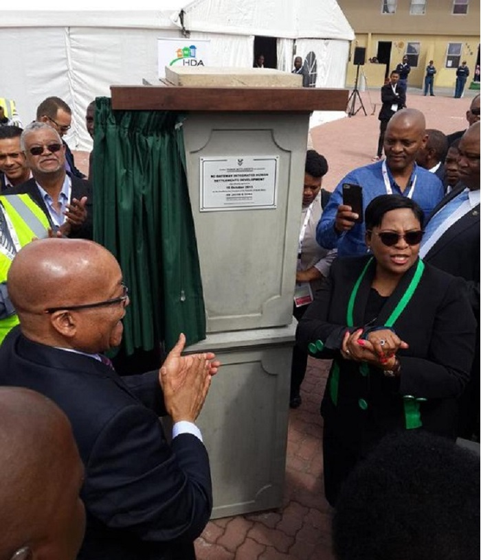 Zuma Opens N2 Gateway housing construction project in South Africa