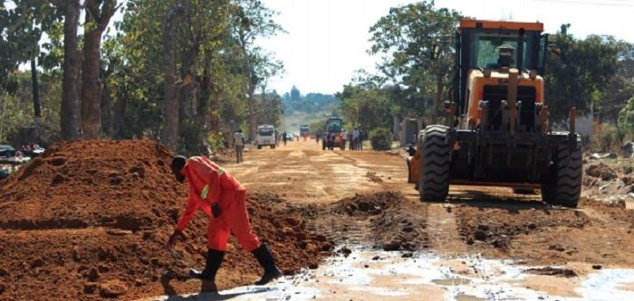 Construction work begins on major Road in Zambia