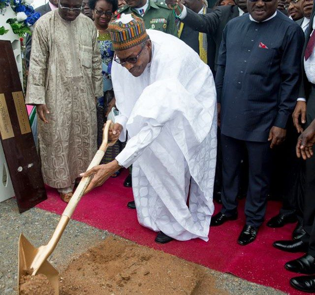 Buhari launches 260km Super Highway construction project in Nigeria