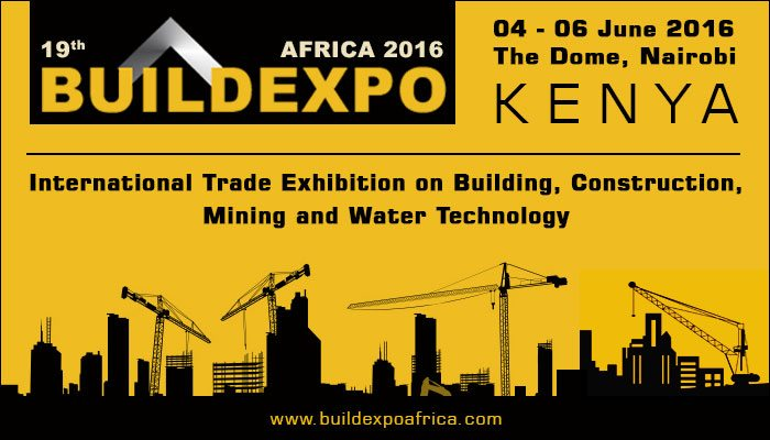 BuildExpo Africa 2016- Africa's most dynamic building and construction exhibition