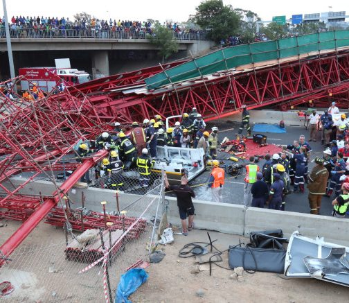 Investigations into M1 bridge collapse in South Africa to take months