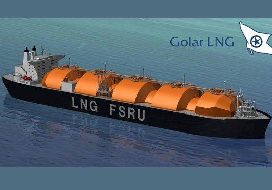 Golar set to deliver floating storage and regasification units in Ghana Edit | Quick Edit