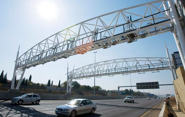 funds for e-tolls in South African province Gauteng set aside