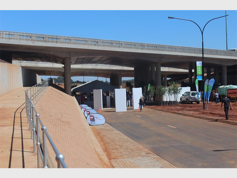 Newly constructed major underpass in South Africa officially opened