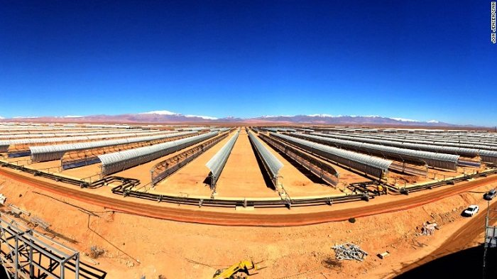World's largest concentrated solar power plant in Morocco to be constructed