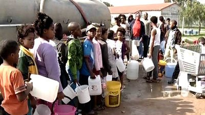 Water conservation campaign in South African province Gauteng adopted