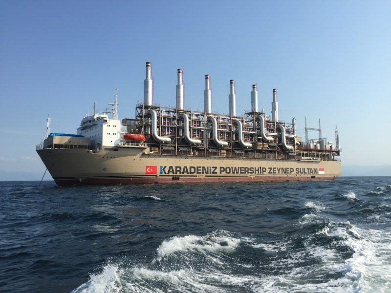 The Karadeniz Powership from Turkey finally docks in Ghana