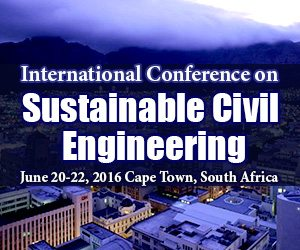 International Conference on Sustainable Civil Engineering in South Africa