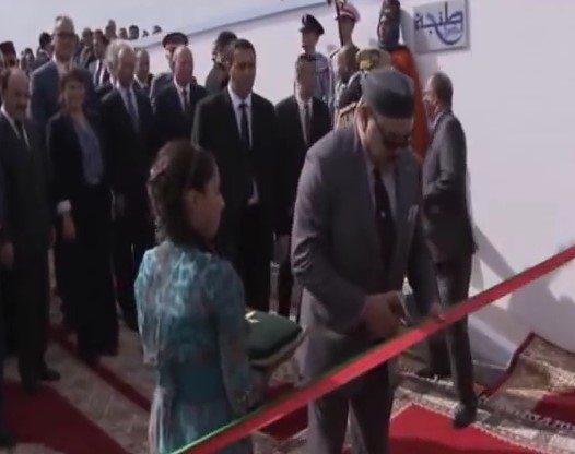 Moroccan King visits wastewater treatment plant in Tangier