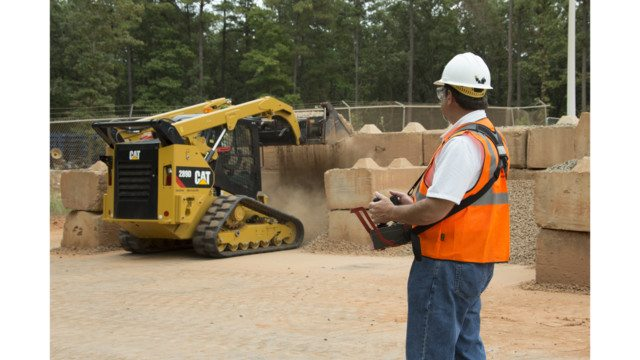 Caterpillar and TORC Robotics Launch Remote Control for Cat D Series Loaders