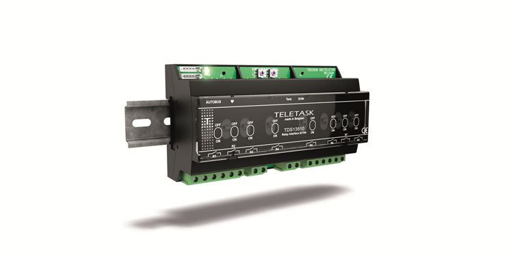 Relay Interface TDS13510 (8x16A latching relays with manual control)