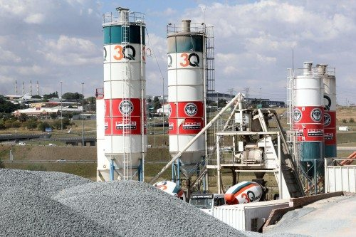 South Africa cement supplier PPC announces decrease in sales
