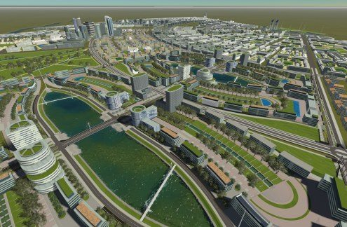 Construction of Konza techno city in Kenya boosts Nairobi image