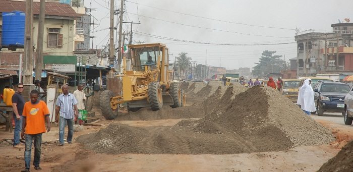 Nigeria launches the construction of major roads in Lagos