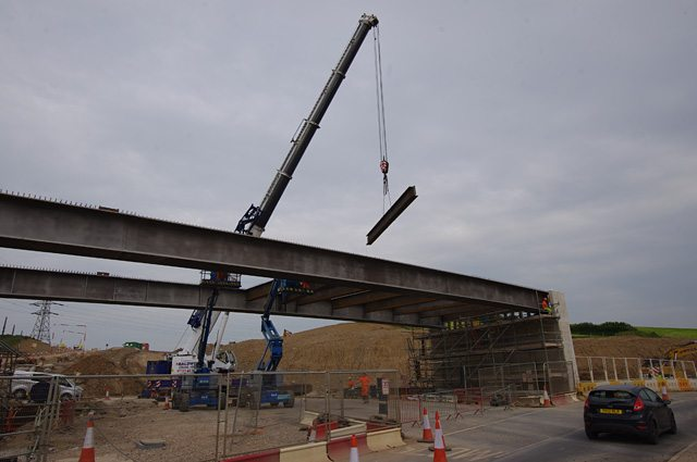 Sandpruit Bridge construction in South Africa enters phase two