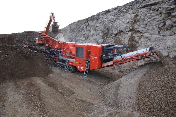 Terex® Finlay launches NEW I-140 impact crusher