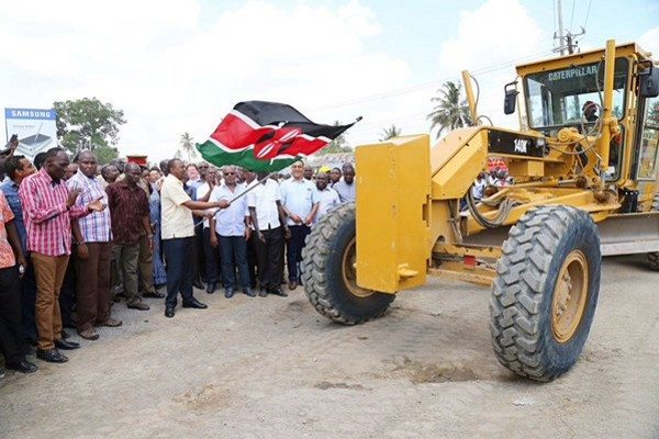 Construction of Port Reitz/Moi International Airport Access Road launched