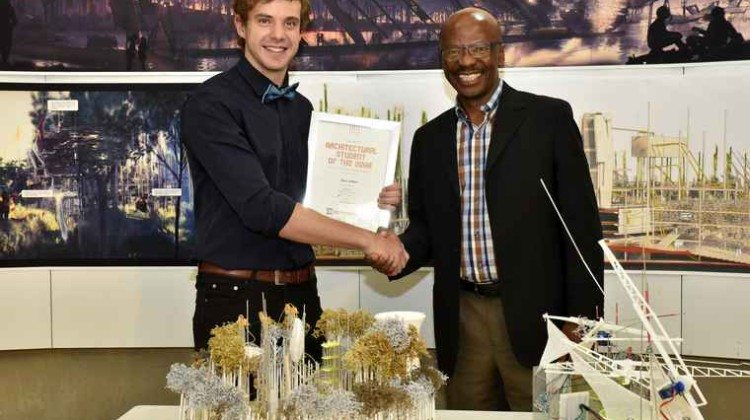 South African Student wins regional architectural award