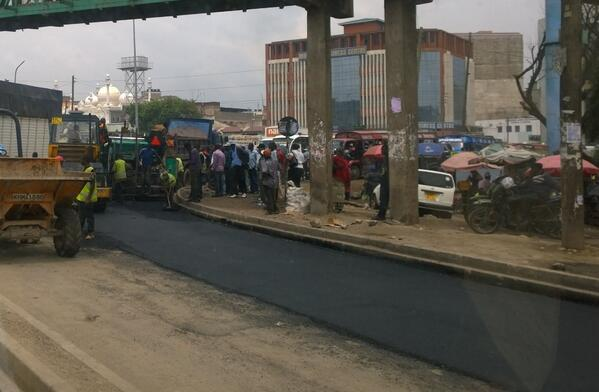 Kenya's Nairobi County sets aside US$ 60.5m for roads construction