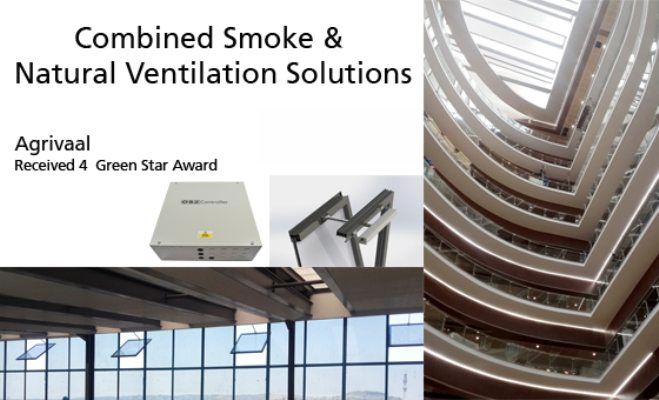 SE Controls: Smoke and natural ventilation for Pretoria's new Agrivaal building