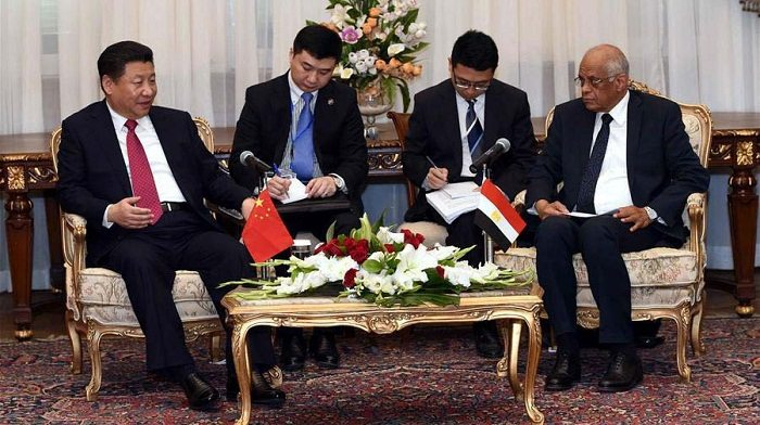 China pledges to boost infrastructure construction in Egypt