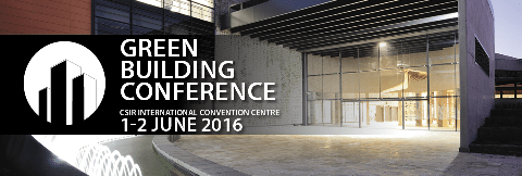 10th annual Green Building Conference in Tshwane South Africa