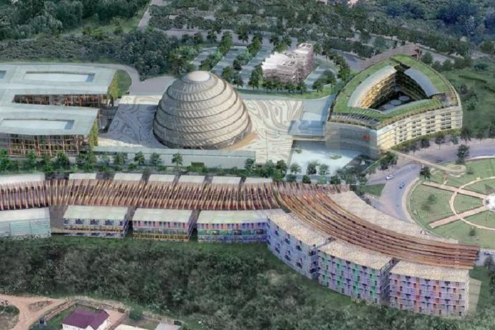US$ 300m Kigali Convention Centre in Rwanda set to be opened in June