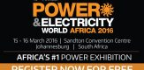Power and Electricity World Africa 2016 in South Africa