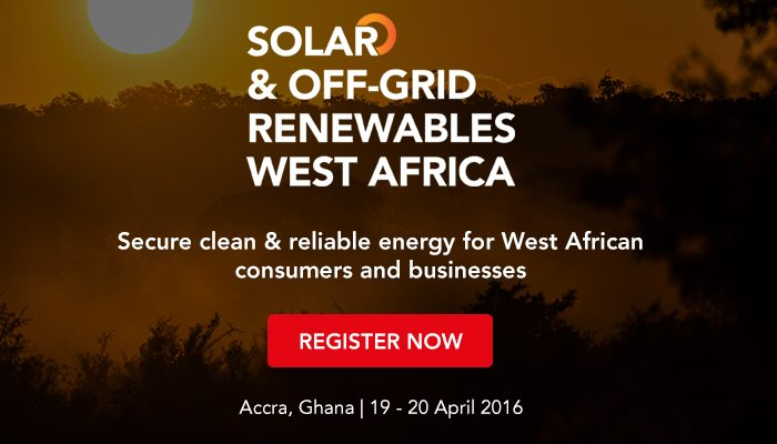 Solar and Off Grid Renewables West Africa 2016 Conference