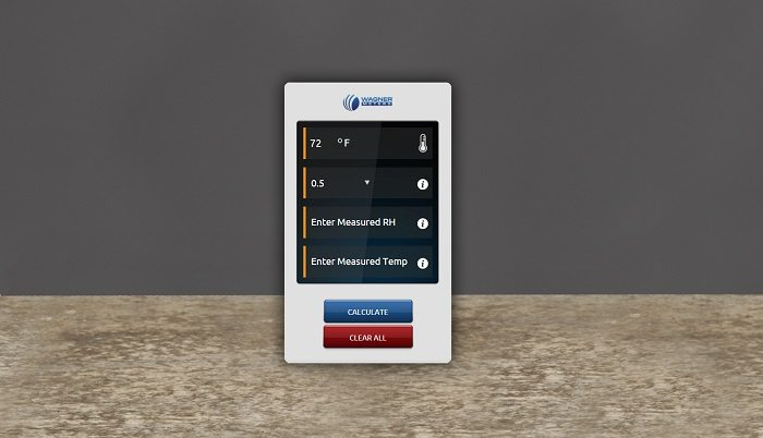Wagner Meters introduces new online temperature estimator